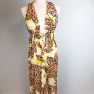 Trina Turk Biscayne Floral Paisley Maxi Dress